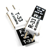 RC 40 MHz 40.855 FM Cristal TX & RX Receptor 40 MHz Negro canal 33