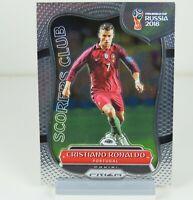 Cristiano Ronaldo Panini Prizm 2018 Silver World Cup Scorers Club SC-16 Portugal