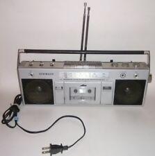 Vintage Stewart Boombox Radio Receiver Recorder model St-1042 Am/Fm Collectible