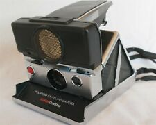 Polaroid SX-70 Land Camera Sonar One Step Tested & Works great W/ Accessories