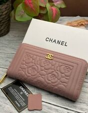 CHANEL WALLET, CLUTCH, PURSE, 100% leather, Women