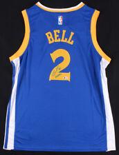 """Jordan Bell Signed Golden State Warriors Jersey Inscribed """"DubNation"""" (Beckett)"""