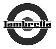 high detail airbrush stencil lambretta logo three FREE UK POSTAGE