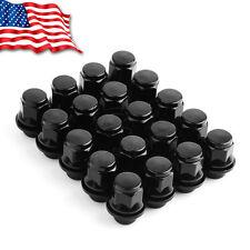 20 Black Mag Seat Lug Nuts 12x1.5 for Toyota Tacoma FJ Cruiser Tundra Sequoia