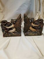 1925 Donna Lee Fairy bookends