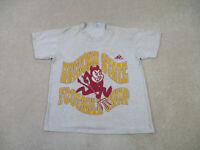 VINTAGE Arizona State Sun Devils Shirt Adult Large Gray ASU Football Mens 90s *