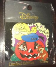 Disney Pin Chip And Dale Donald Duck Halloween 2003 Japan JDS PUMPKIN LE