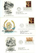 FDC LOT OF 30 -1977 COMMEMORATIVES - 1704 TO 1709, 1711 TO 1722, 1725 TO 1730