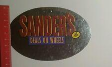 Aufkleber/Sticker: Sanders Deals on Wheels Köln (091016114)