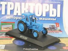 1:43 Traktor MTZ 50 Belarus russian Hachette Magazin Nr.1 USSR UdSSR DDR Tractor