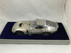 Franklin Mint Shelby Daytona Coupe Pewter Limited Edition 1000 1:12 NIB