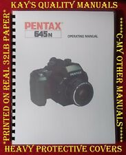 Highest Quality ~ Pentex 645N Operating Manual  😊😊C-MY OTHER MANUALS😊😊