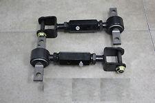 01-04 Honda Civic EM ES 2/4 02-06 RSX Rear Camber Kit Black V1SD +/- Adjustable