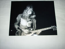KISS AWESOME VINTAGE ERA LIVE ACE FREHLEY B&W 8X10 PHOTO.GREAT FOR AUTOGRAPHING