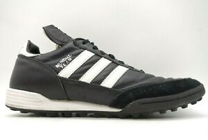 Adidas Mundial Team Black Lace Up Athletic Turf Soccer Cleats Shoes Men's 11