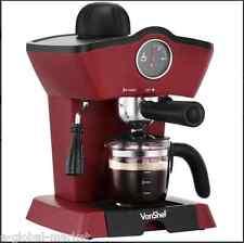 MACCHINA per il caffè Espresso Maker Macchina VASCHETTA Cappuccino Latte Macchiato tazza Scoop Rosso