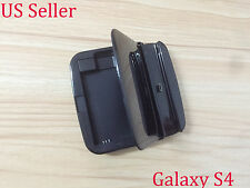 Black Desktop Cradle Sync Battery Charger Dock Stand for Samsung Galaxy S4 i9500