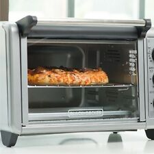 Convection Countertop Toaster Oven Heat 6 Slice 3 Rack Position