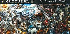 """Heavy Metal, CD, GUTTURAL (WARVIC), """"Set Swords To Music"""" album"""