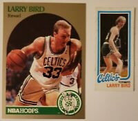 LARRY BIRD RC 1980-81 Toops & 1991 Hoops Superstars BRONZE Border #34 RARE🔥🔥