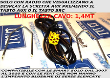 KIT CAVO 1,4M AUDIO AUX IN MP3 FIAT GRANDE PUNTO EVO 500 PANDA ALFA 159 LANCIA Y