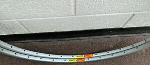 2 NOS Mavic 192 Clincher Rim 700c 32H Silver Anodized Rims Vintage 80s