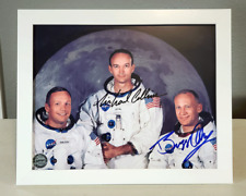Michael Collins & Buzz Aldrin Signed Autographed Photo with Coa - Apollo 11 Nasa