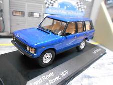 RANGE ROVER LAND 4x4 SUV blue blau V8 1970 5 Türer  IXO White Box 1:43