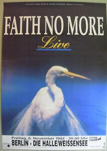 FAITH NO MORE CONCERT TOUR POSTER 1992 ANGEL DUST