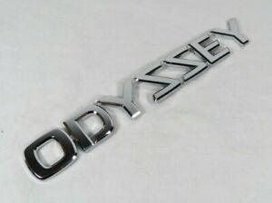 HONDA ODYSSEY EMBLEM 99-04 REAR LIFTGATE OEM CHROME BADGE back logo sign name