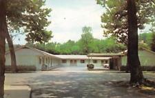 IRON HORSE MOTEL Elkins, West Virginia Roadside ca 1960s Vintage Postcard