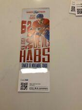 unused season hockey  tickets Montreal Canadiens Artturi Lehkonen nov 16