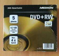 Medion Rohlinge CD-R 80 und DVD+RW (8 stück und 5 stück)