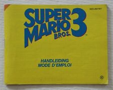 Nintendo NES - Super Mario Bros 3 - Notice / Instruction Manual