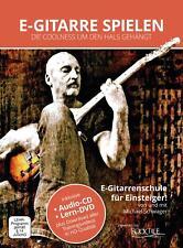 E-GITARRE GITARRE LERNEN SCHULE DVD CD VIDEO DOWNLOAD ANFÄNGER EINSTEIGER NOTEN