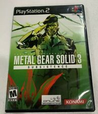 Metal Gear Solid 3 Subsistence: (Playstation 2 Video Game)