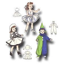 "Vintage Pattern 21"" 22"" Toni, Revlon, Sweet Sue Doll ~ Ballerina Clown Cowgirl"