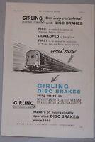 1957 Girling Disc Brakes Original advert No.1
