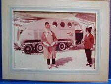 Tracked Snowmobile Tour Bus/Older Photo/JASPER PARK, CN