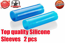 2 Silicone Sleeves for Penis Enlargement Extender Stretcher Pump Hanger Enlarger