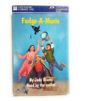 Fudge-A-Mania Book on Tape By Judy Blume