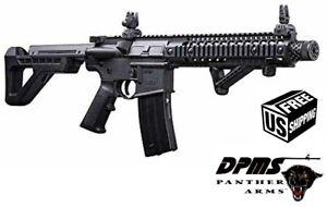 DPMS Crosman Full Auto CO2 Powered BB Gun Air Rifle DSBR Black