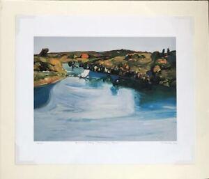Gregory Kondos - Summer Day American River   198/200 - 1996  Huge Reduction!!!