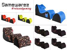 Gamewarez Sitzsack Set Relax Gaming Sessel Beanbag Lounge Chillout Sack XBOX PS4