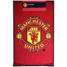 Manchester United FC Rug New Man Utd Gift For Christmas Birthday Boys Girls