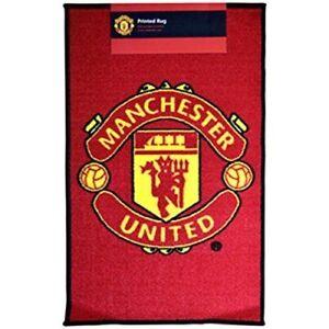 Manchester United FC Rug New Man Utd Gift For Christmas Birthday Boys Girls