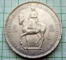 GREAT BRITAIN ELIZABETH II 1953 CORONATION CROWN, UNC
