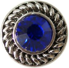 SMALL SNAP * ROYAL BLUE STONE Snap 12mm Interchangeable Jewelry Fits Ginger Snap