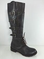Matisse Womens Dark Brown Leather Knee Boots 6 M