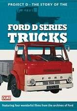 Project D - The Story of the Ford D Series Trucks (New DVD) Haulage Lorry